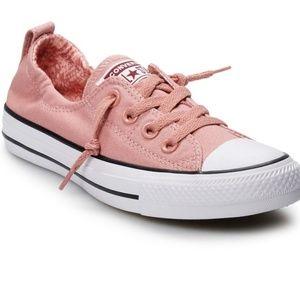 Converse Rust Pink Slip On Sneakers